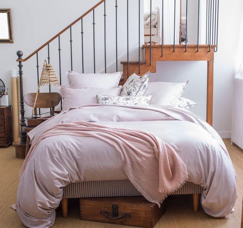 Fig Linens - Loulou Pink Throw by Alexandre Turpault