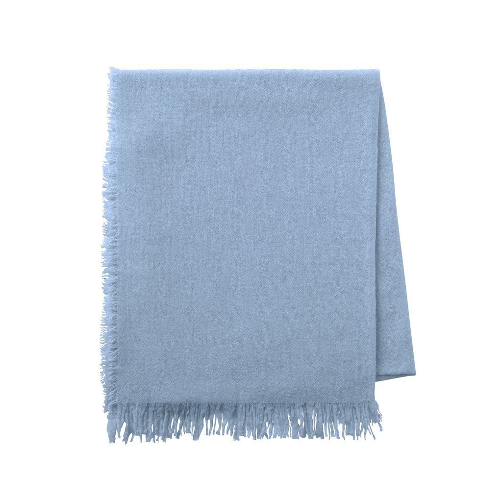 Loulou Blue Grey Throw by Alexandre Turpault | Fig Linens and Home