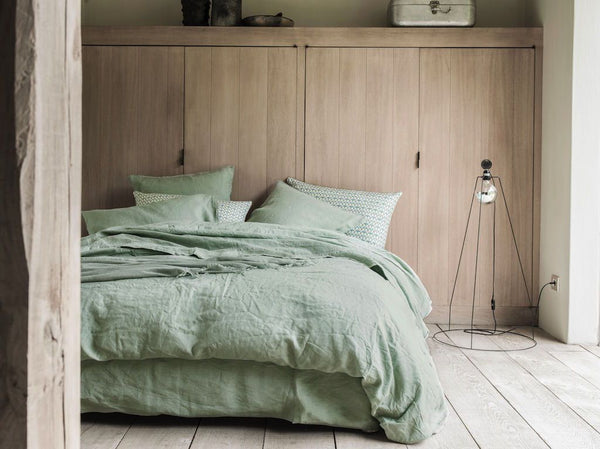 Nouvelle Vague Eucalyptus Bedding by Alexandre Turpault | Fig Linens