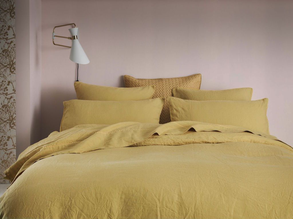 Nouvelle Vague Gold Bedding by Alexandre Turpault