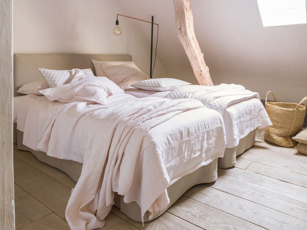 Nouvelle Vague Pink Bedding by Alexandre Turpault | Fig Linens