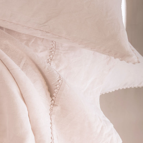 Fig Linens - Alexandre Turpault Bedding - Nouvelle Vague Pink Bedding