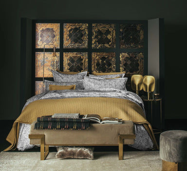 Palace Gold Coverlet & Shams by Alexandre Turpault | Fig Linens