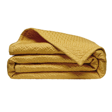 Fig Linens - Alexandre Turpault Palace Gold Coverlet