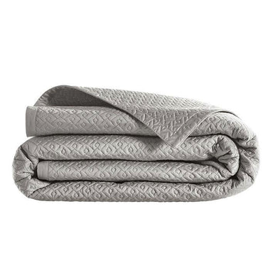 Fig Linens - Alexandre Turpault Palace Oyster Coverlet