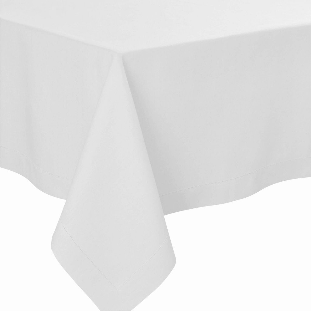 Fig Linens - Alexandre Turpault Table Linens - Florence Silver Tablecloth