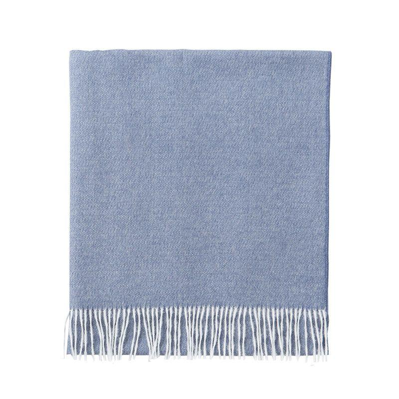 Vintage Slate Blue Throw by Alexandre Turpault