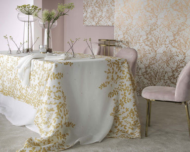 Sublime Gold Tablecloth by Alexandre Turpault | Fig Linens