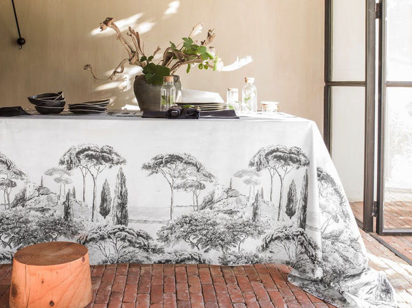 Presquile Tablecloth by Alexandre Turpault | Fig Linens and Home