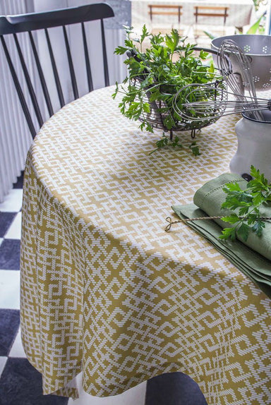 Tribu Wicker Tablecloth by Alexandre Turpault | Fig Linens and Home