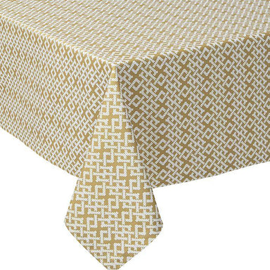 Fig Linens - Alexandre Turpault Table Linens - Tribu Wicker Tablecloth