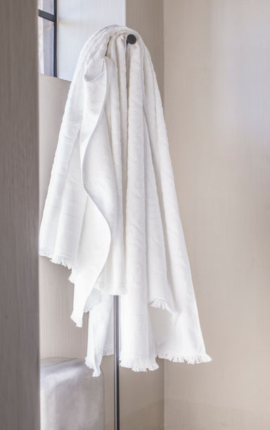 Croisiere White Beach Towel by Alexandre Turpault | Fig Linens