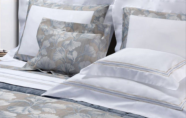 Mark Embroidery Bedding by Dea Linens | Fig Linens and Home