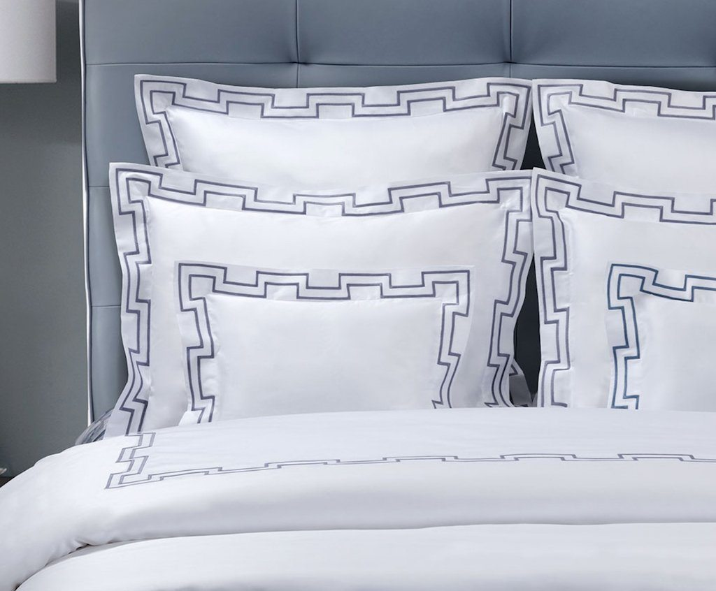 Musica Embroidery Bedding by Dea Linens | Fig Fine Linens and Home