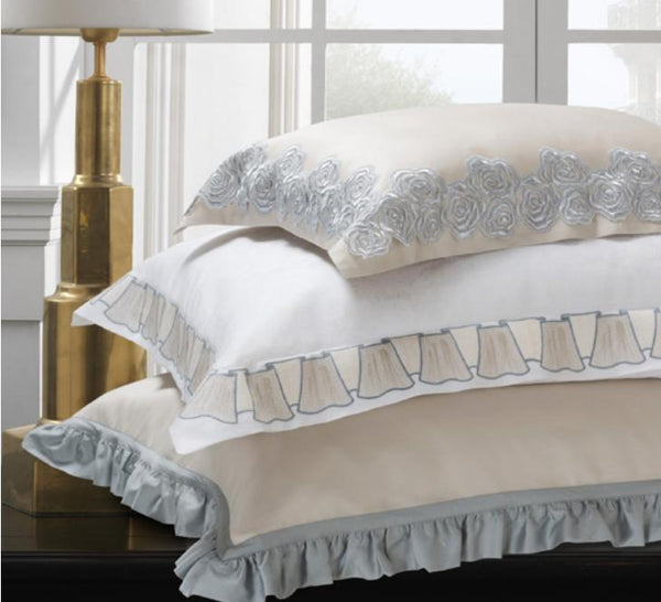 Fig Linens - Dea Linens - Olimpia Embroidery Bedding