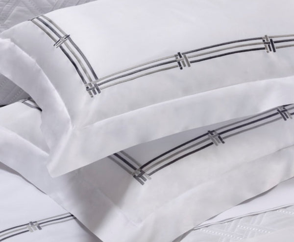 Fig Linens - Dea Linens - Panama Embroidered Bedding