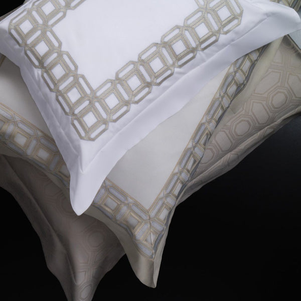 Fig Linens - Versilia Embroidered Bedding by Dea Fine Linens