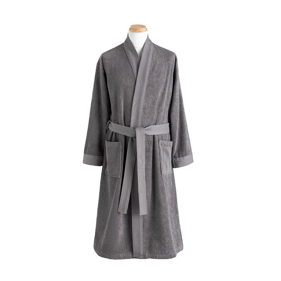 Ess-kimo Graphite Grey Robe by Alexandre Turpault | Fig Linens