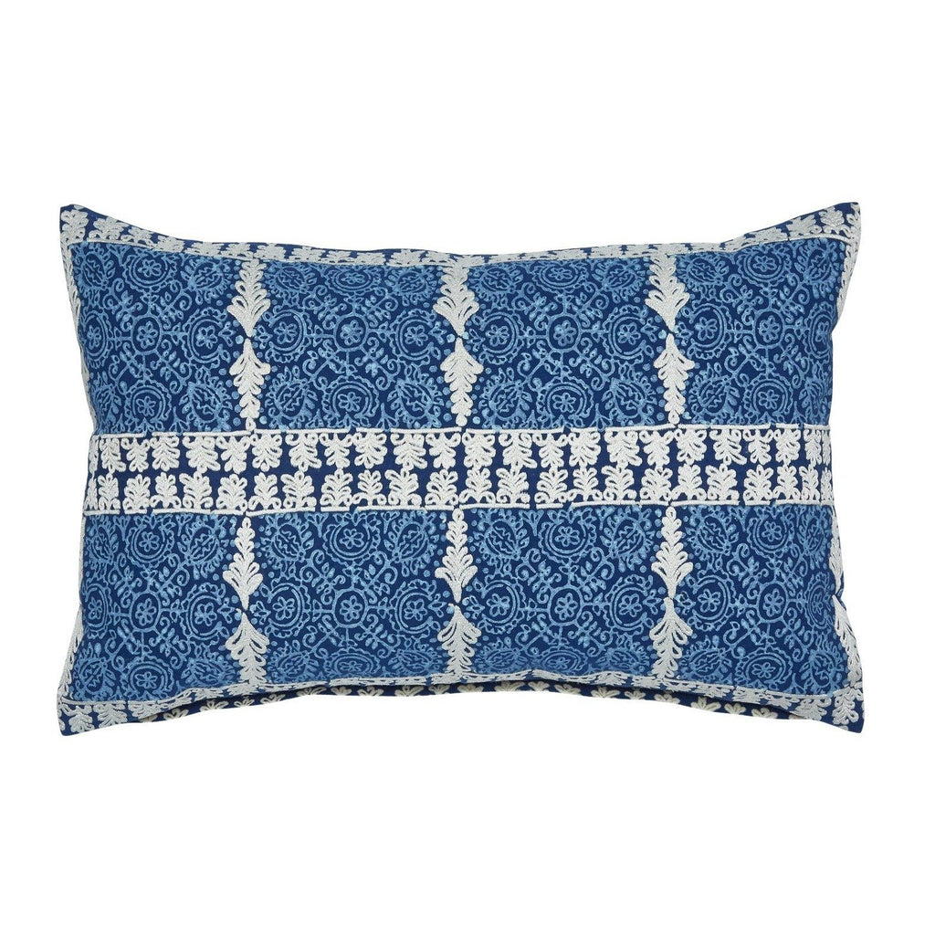 Cacarra Decorative Pillow by John Robshaw - Fig Linens