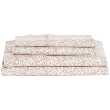 Fig Linens - Sarato Sand Sheet Set by John Robshaw