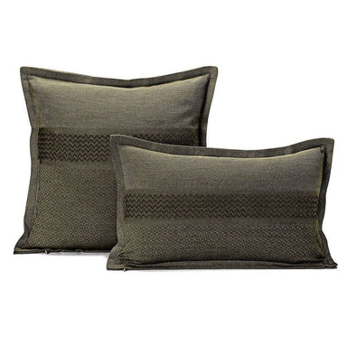 Slow Life Fern Decorative Pillows by Le Jacquard Français | Fig Linens