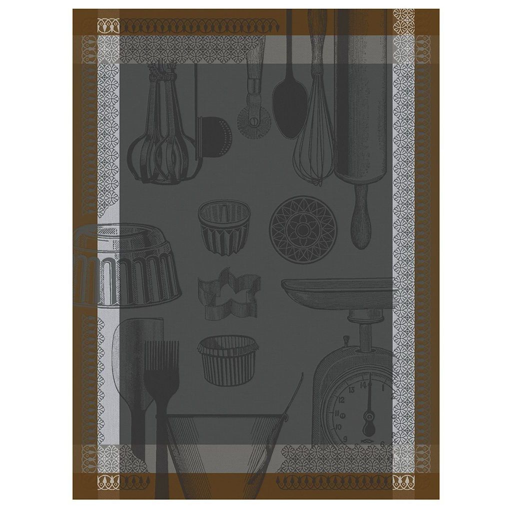 Equinox Chef Patissier Utensils Tea Towels by Le Jacquard Français