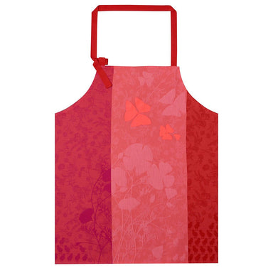 Farm Family Pink Apron by Le Jacquard Français  | Fig Linens