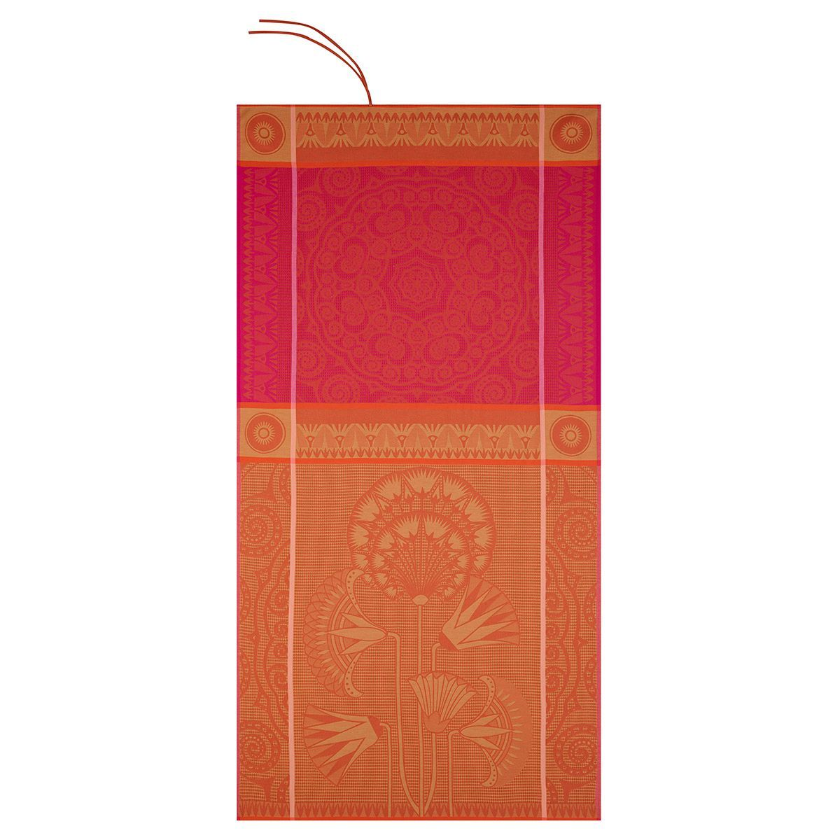 Holi Orchid Beach Towel by Le Jacquard Français | Fig Linens