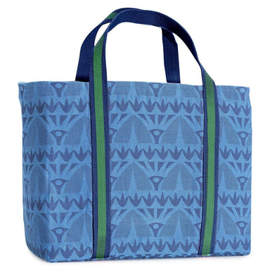Fig Linens - Holi Beach Bag by Le Jacquard Francais - Sapphire