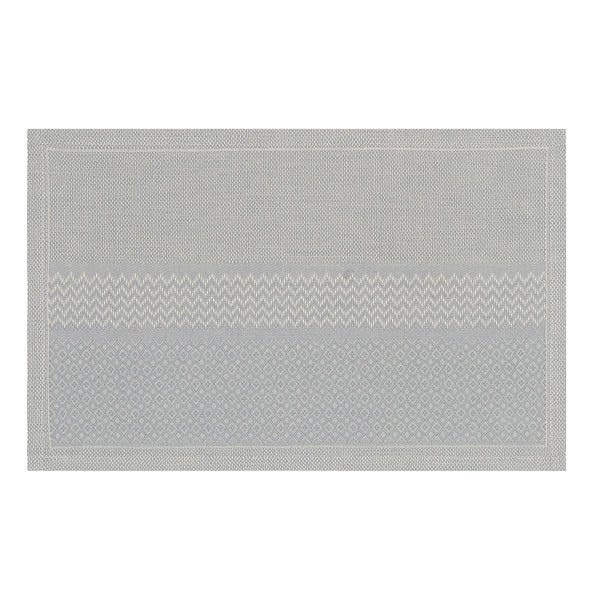 Fig Linens - Le Jacquard Francais Slow Life Metal - Placemat and Napkin