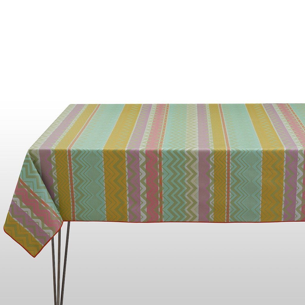 Fig Linens - Le Jacquard Francais - Color Rock Pop Tablecloth
