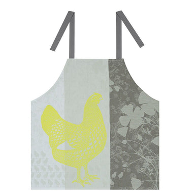 Farm Family Yellow Kid's Size Apron by Le Jacquard Français  | Fig Linens