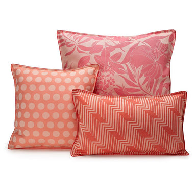 Fig Linens - Nature Urbaine Quartz Outdoor Pillows by Le Jacquard Français