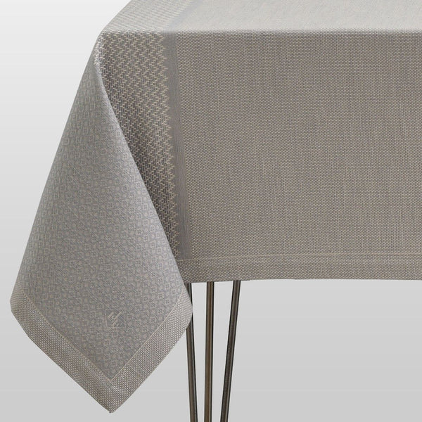 Slow Life Metal Table Linens by Le Jacquard Français | Fig Linens