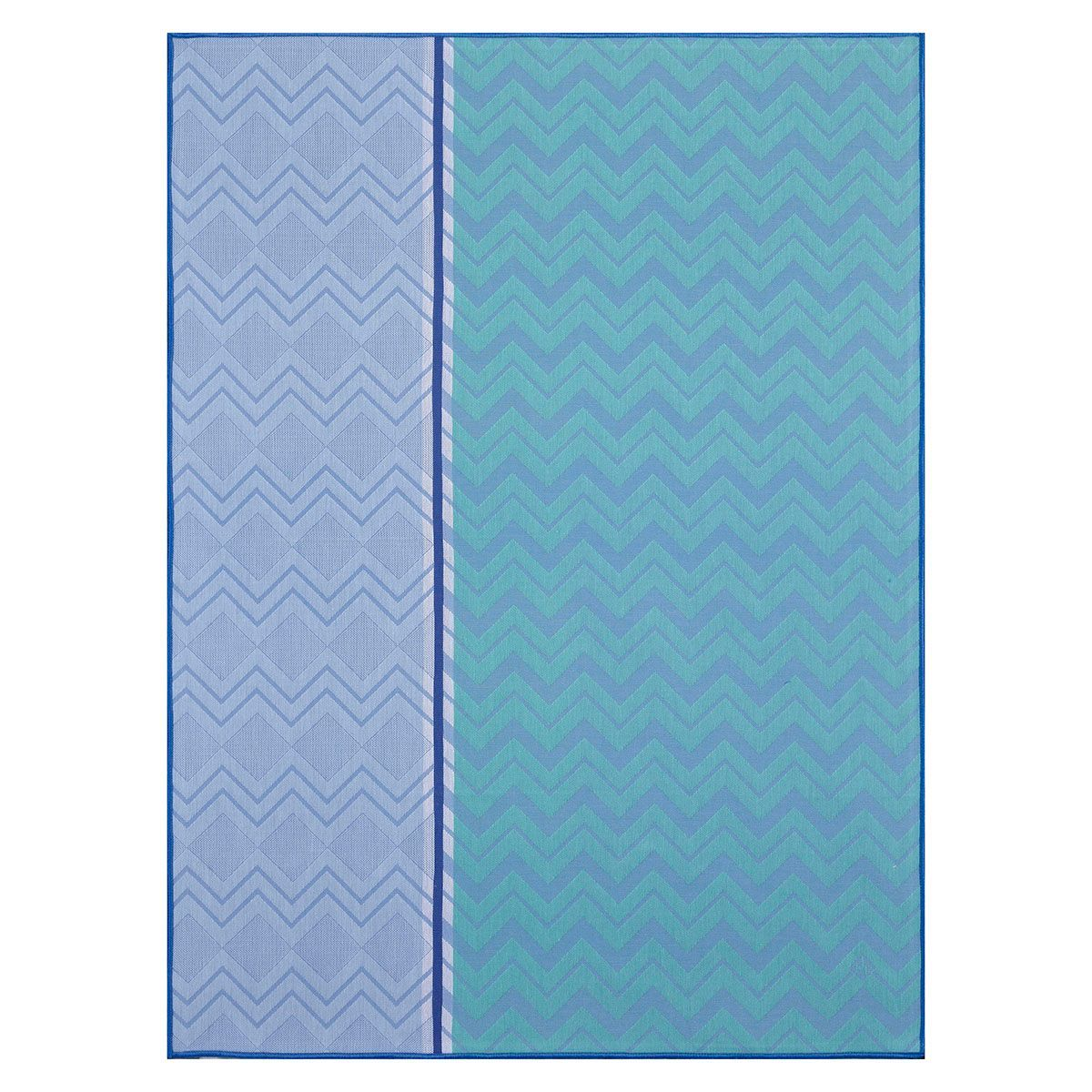 Color Rock Denim Tea Towels by Le Jacquard Français | Fig Linens