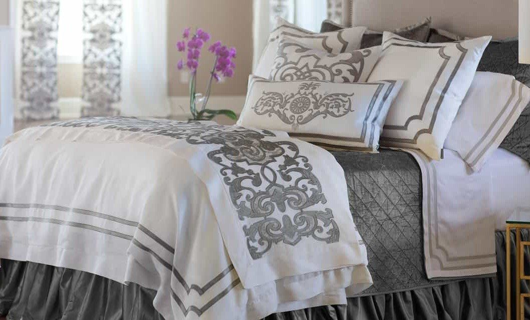 Soho Silver Bedding by Lili Alessandra | Fig Linens and Home