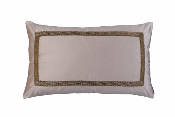 Caesar Blush Velvet Large Rectangle Pillows by Lili Alessandra | Fig Linens and Home