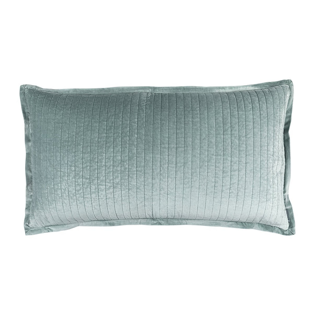 Fig Linens - Lili Alessandra Bedding - Aria Sky King Pillow