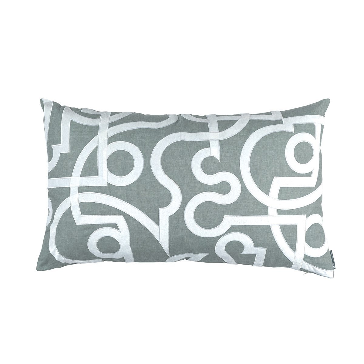 Geo Sky Lumbar Pillow by Lili Alessandra | Fig Linens and Home