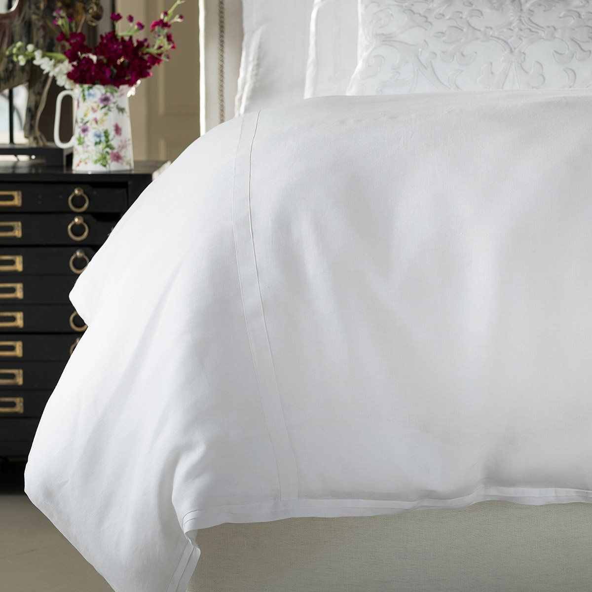 Bloom White Bedding by Lili Alessandra