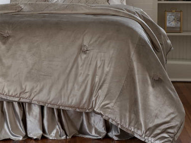 Chloe Fawn Velvet Comfortlet by Lili Alessandra | Fig Linens