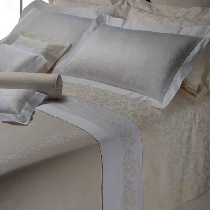 Marmaris Embroidery Bedding by Dea Fine Linens | Fig Linens