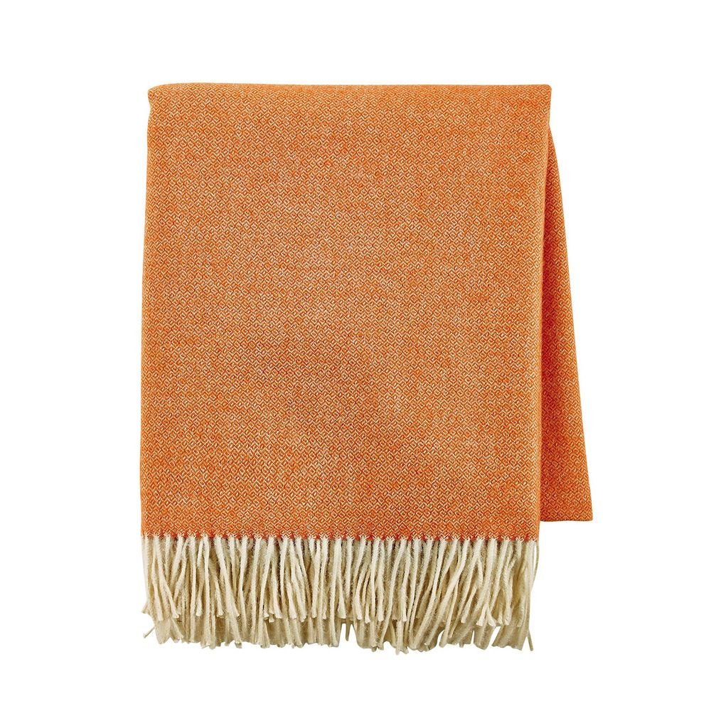 Vintage Orange Throw by Alexandre Turpault