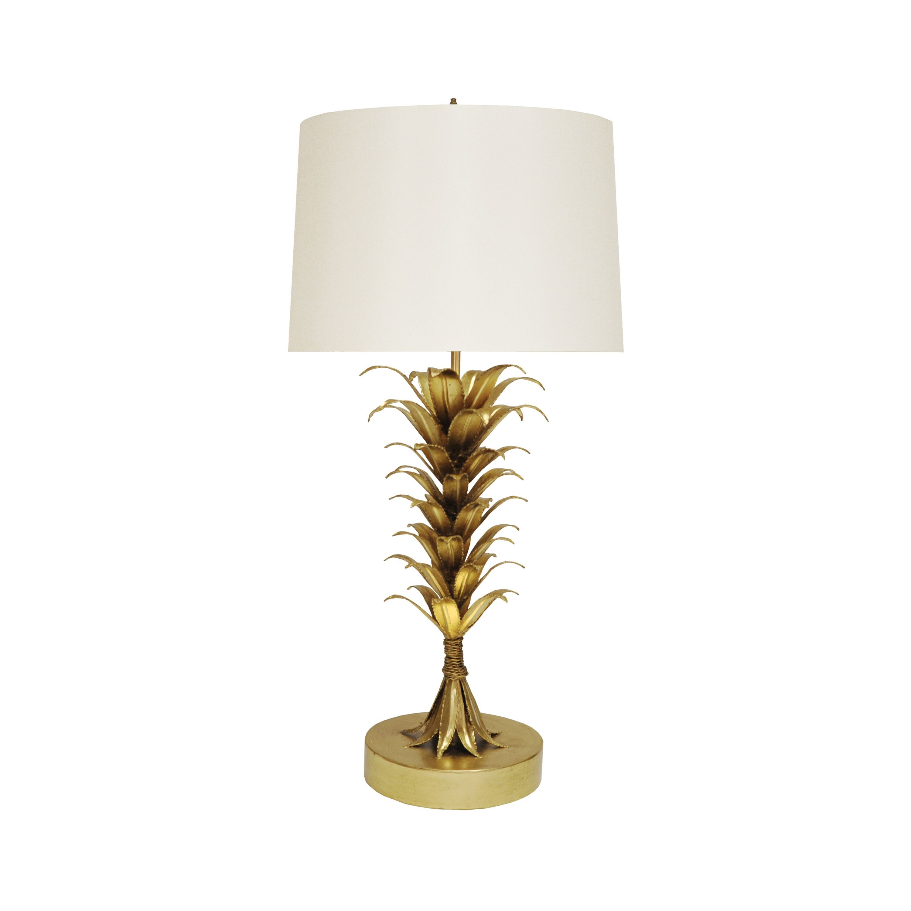 Capri Gold Table Lamp by Worlds Away