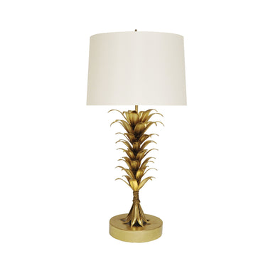 Capri Gold Table Lamp by Worlds Away | Fig Linens and Home