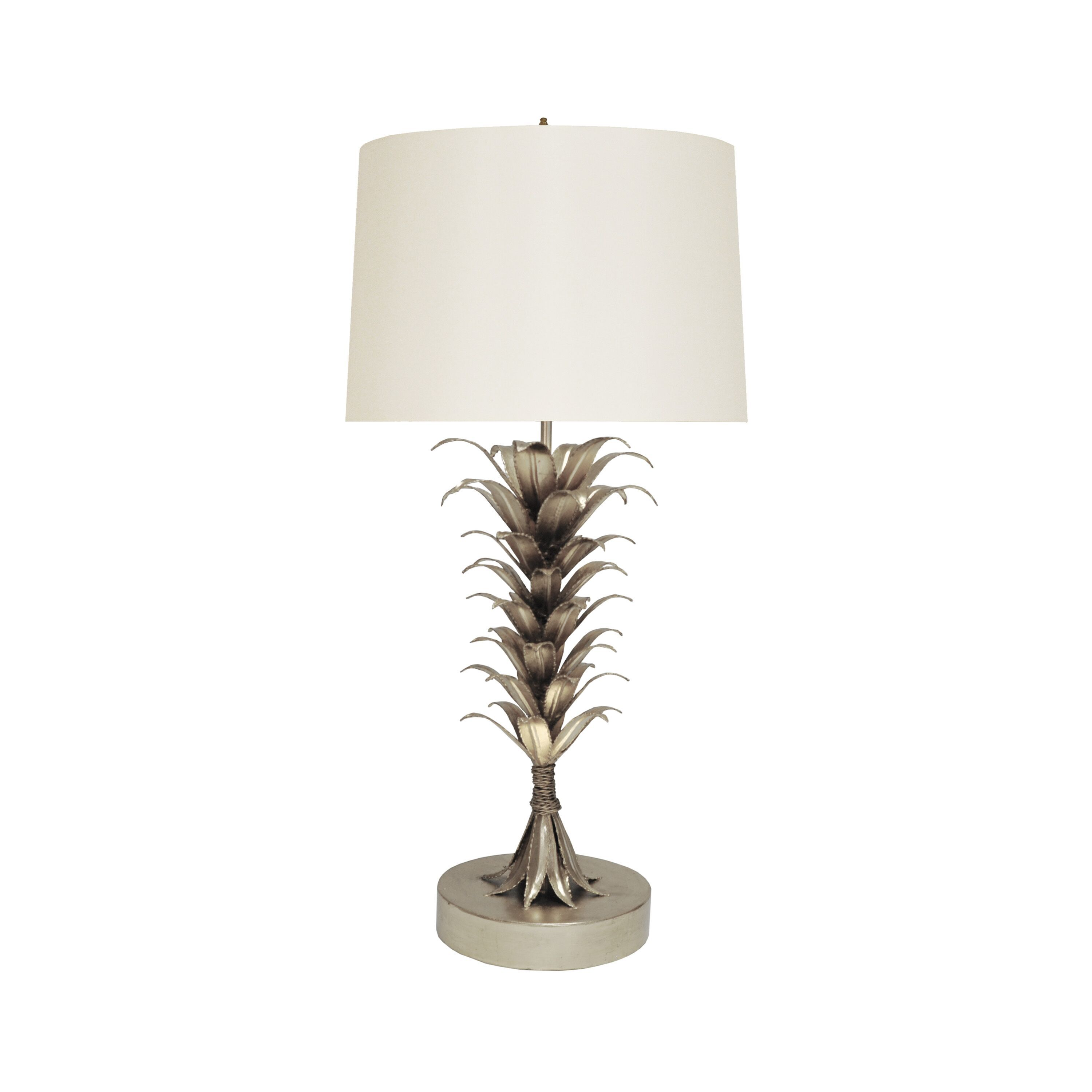 Capri Silver Table Lamp by Worlds Away