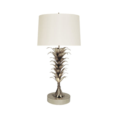 Capri Silver Table Lamp by Worlds Away | Fig Linens and Home