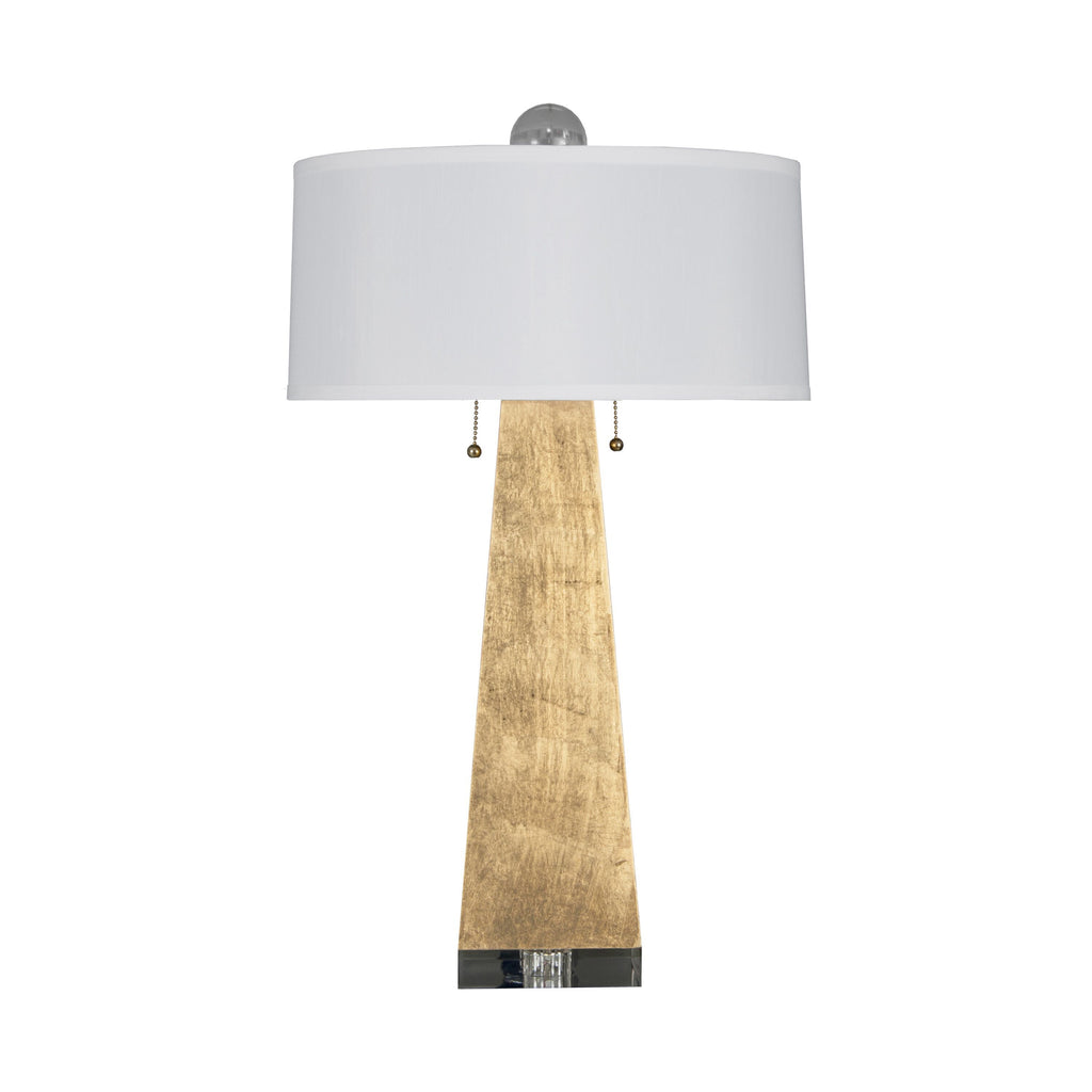 Jill Gold Leaf Table Lamp by Worlds Away | Fig Linens and Home