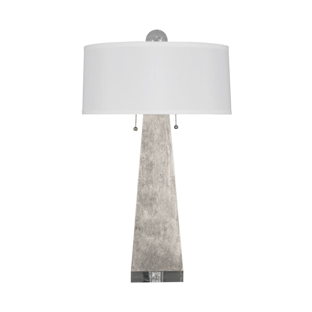 Jill Silver Leaf Table Lamp by Worlds Away | Fig Linens and Home