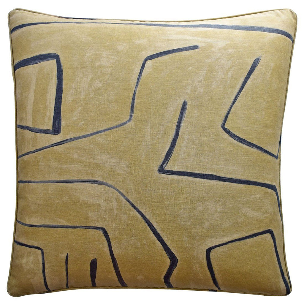Graffito Java Throw Pillow | Ryan Studio at Fig Linens